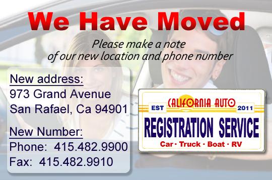 Vehicle Registration Renewal Ca >> Corte Madera DMV Vehicle Registration Service